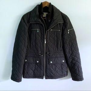 Michael Kors Women's Black Quilted Jacket